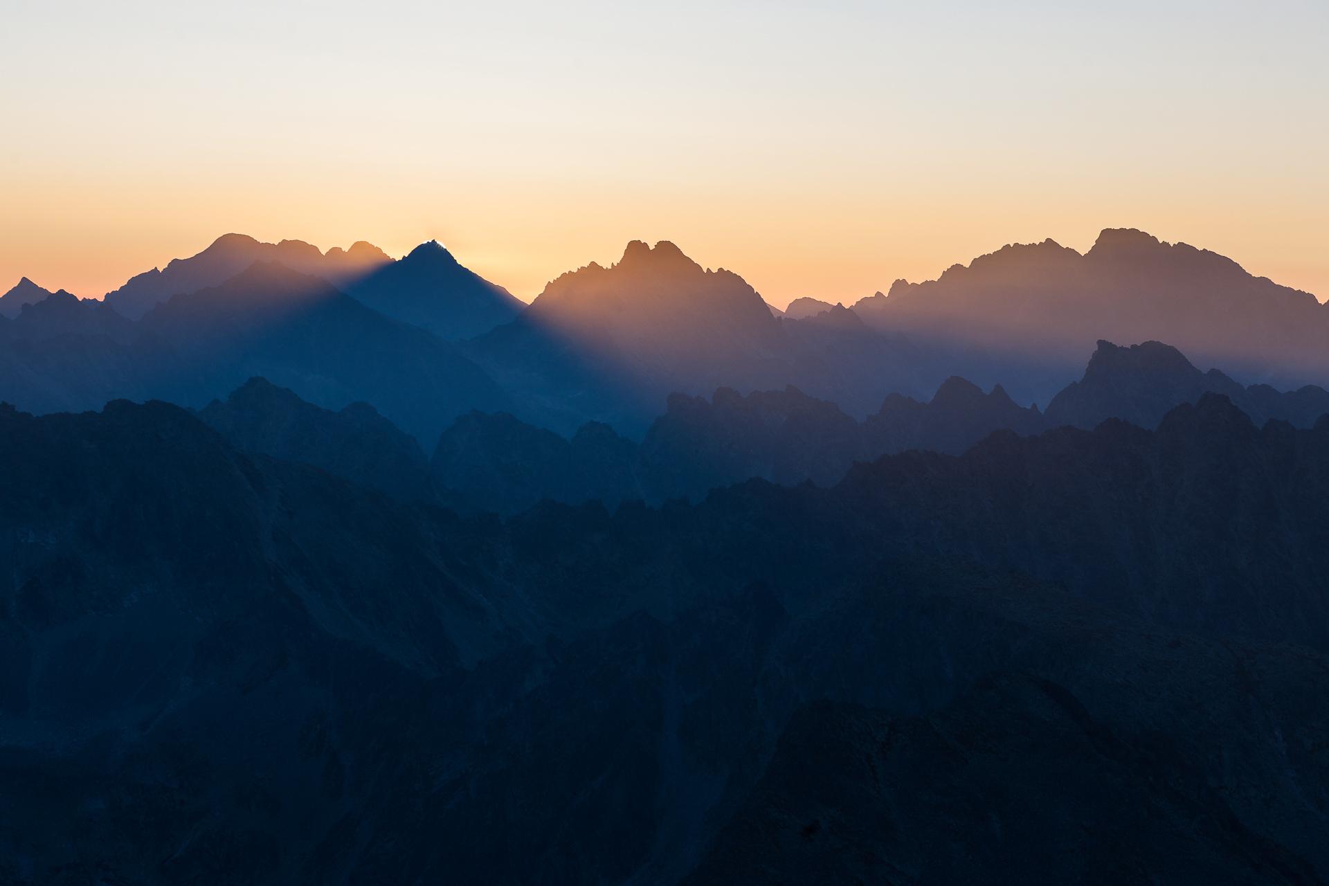 Sunrise in Slovakia